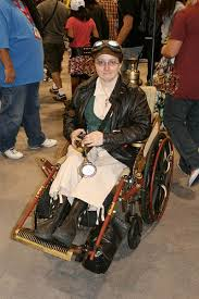 Steampunk Halloween Costume Steampunk Halloween Wheelchair Costume Wheelchair Halloween