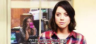 Ron Swanson Circle Desk Episode Some Words Of Wisdom From April Ludgate And Ron Swanson Album