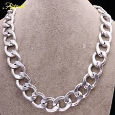 silver necklace womens images 2018 010 new arrival unisex heavy metal link chain jewelry men jpg