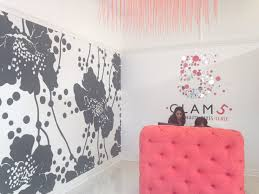 glam 5 salon u2013 custom printed wallpaper u2013 supply u0026 install wci