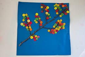 autumn button branch