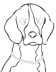 beagle coloring page handipoints
