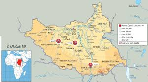 Map Of Sudan Background Learning About Sudan