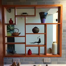 modern kitchen shelving modern kitchen display shelves for a berkeley client
