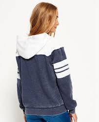 superdry vintage colour block hoodie superdry women hoodies