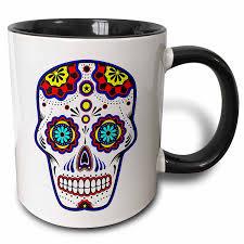 imagenes de calaveras que cambian de color tazas para café de calaveras cafe organico com mx