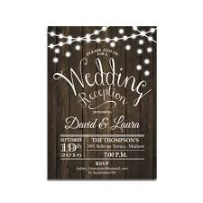 reception invitations reception only wedding invitations wedding