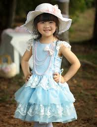 cute baby in blue dress images