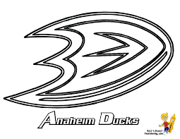 hockey logo coloring pages glum me