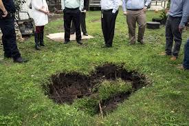 Weatherbug Backyard Watchdog Sinkhole Opens In Backyard Victoria Advocate
