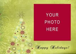 christmas card template business template idea