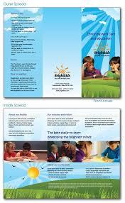 preschool brochure ideas lascala me