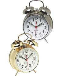 Vermont travel alarm clocks images Bulova wind up alarm clock loud ring and ticking brass or silver 8