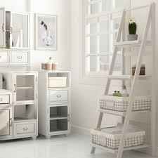 Bathroom Ladder Shelves Bathroom Ladder Shelves Storage Ideas
