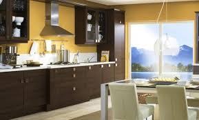 marron cuisine déco peinture cuisine meuble marron 07 bordeaux peinture