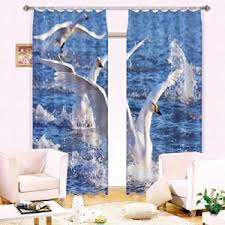 Light Block Curtains Funky 3d Light Blocking Curtains Many Artistic Landscapes Funk