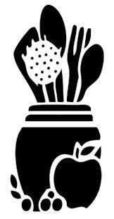 pochoir cuisine pochoir cuisine a imprimer idées de design suezl com