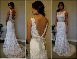 simple country lace wedding dress naf dresses
