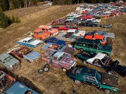 Man Buys Barn Full Of Cars For Sale In Canada Five Acres 340 Vintage Cars The Drive