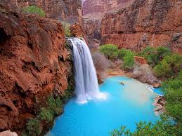 Arizona waterfalls images The havasupai waterfalls grand canyon arizona exotisiv jpg