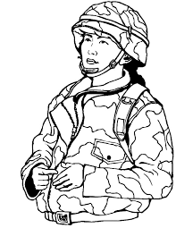 woman military soldier coloring pages color luna