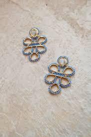 gossip girl earrings gossip girl earrings light blue page 6 boutique