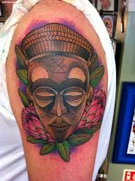 30 old tribal african mask tattoos u2013 african culture face mask