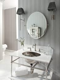 captivating vintage bathroom decor showcasing voluptuous washbowl