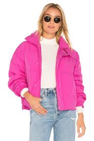 Free People Parka Free People Slouchy Cropped Puffer Coat In Pink Revolve