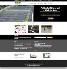 otto u0027s parking marking parking lot website web design sample