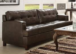 bonded leather sofa bed new lighting