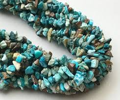 natural turquoise necklace images Wholesale 5 strands turquoise chips beads natural turquoise etsy jpg