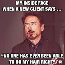Salon Meme - hair salon humor please salon humor pinterest
