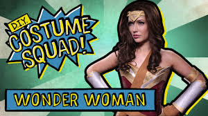 make your own wonder woman costume diy costume squad youtube