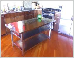 kitchen islands stainless steel top stainless steel top kitchen island songwriting co