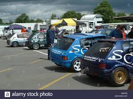 peugeot cars uk various peugeot 205 gti racing cars at oulton park motor racing