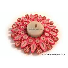 combination quilling candle holder