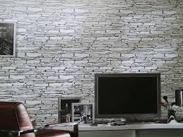 Wohnzimmer Ideen Grau Braun Wunderbar Steinwand Tapete Wohnzimmer Auf Ideen Fur Haus Und