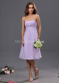 us 99 99 affordable a line lilac strapless short bridesmaid