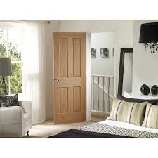 xl joinery internal oak veneer victorian 4 panel fd30 fire door