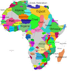 Africa On The Map by Atlas All Country In Africa Map