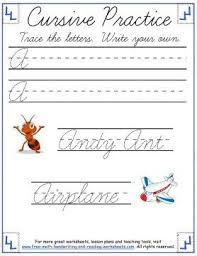 21 best cursive writing worksheets images on pinterest cursive
