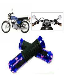 suzuki samurai motorcycle capeshoppers monster designer blue bike handle grip for suzuki