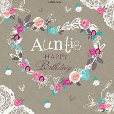 happy birthday auntie wishes with images