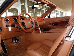 orange bentley interior 2007 bentley continental gt convertible
