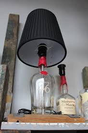 Lamps Made From Bottles Bottles U0026 Wood Handmade Gifts From Your Favorite Beverages