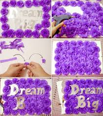 Room Decorating Ideas With Paper Diy How To Make Crepe Paper Flowers For Room Decoration