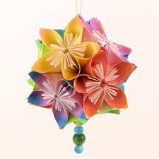 Paper Craft Steps - kusudama flowers donationware paper craft tutorial planetjune