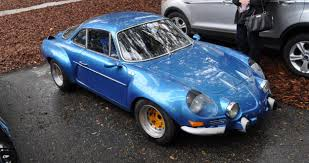 renault alpine a110 amelia parking lot finds 1960s renault alpine a110 on