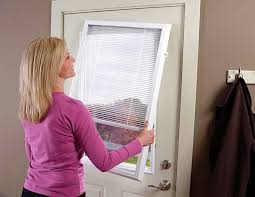 Exterior Door Blinds Fantastic Blinds For Door Windows Inspiration With Add On Enclosed